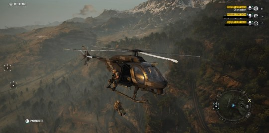 Ghost Recon Breakpoint - you'll believe a man can fly