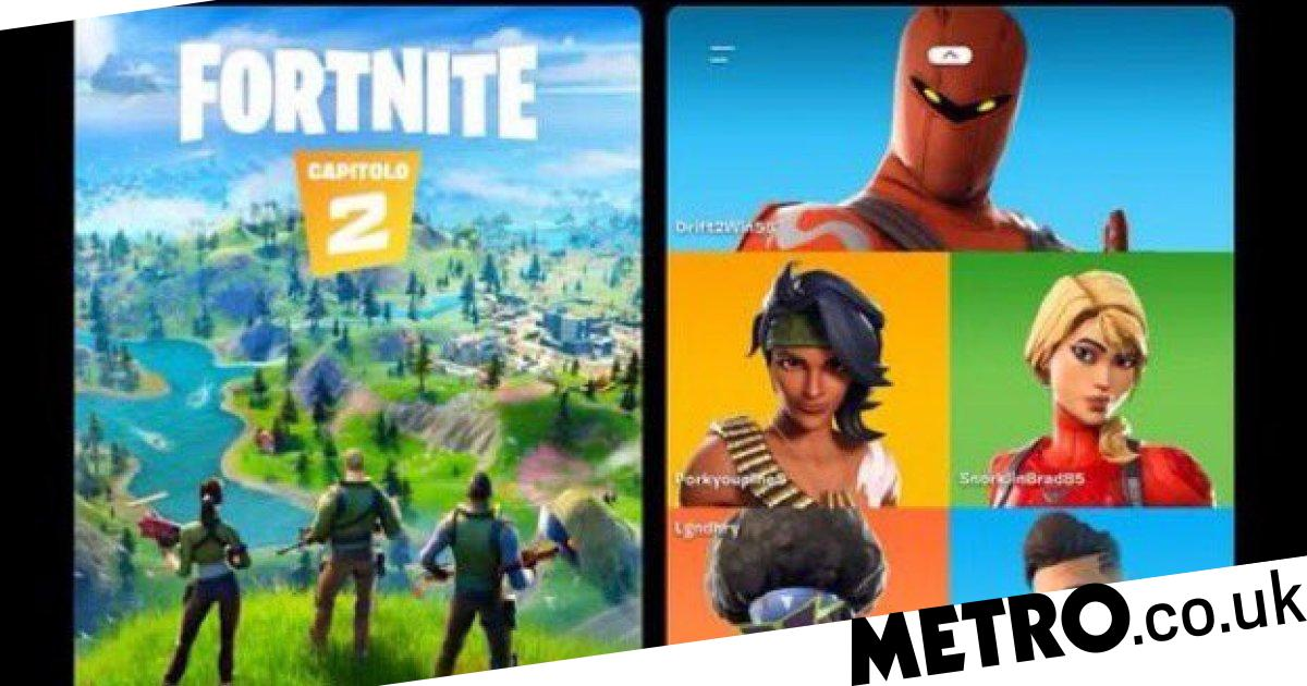 Fortnite Chapter 2 Leaked With Brand New Map And Boats