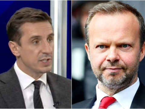 Gary Neville urges Glazers to remove Ed Woodward from Manchester United's transfer business