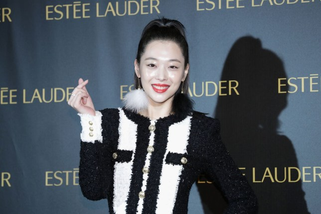 The late K-Pop star Sulli