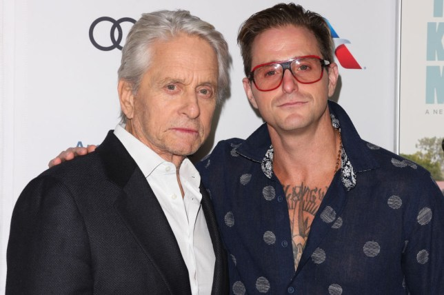 Michael Douglas and son Cameron Douglas