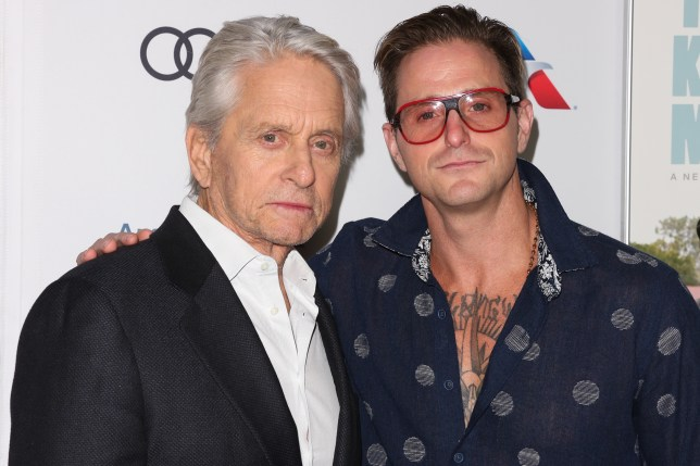 Michael Douglas 'so proud' of son Cameron after recovery from drug addiction