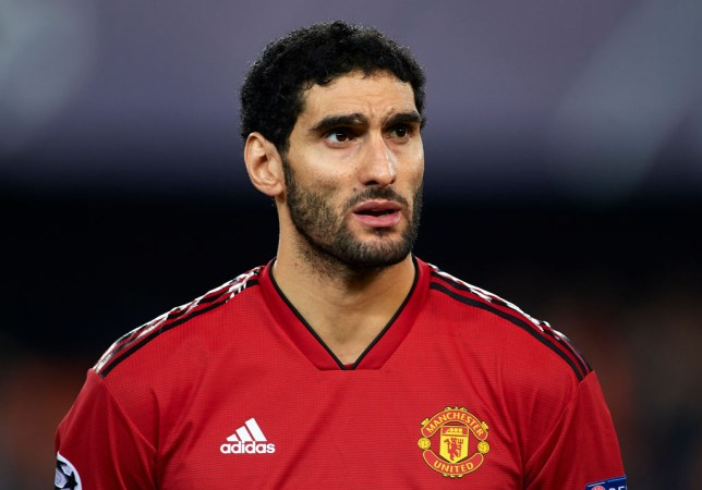 Marouane Fellaini was deemed surplus to requirements by Ole Gunnar Solskjaer at Manchester United