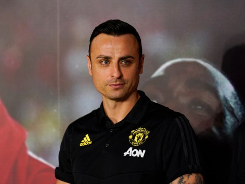Dimitar Berbatov reveals the one positive from Manchester United's draw with Arsenal