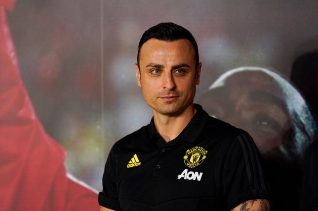 Dimitar Berbatov is concerned for Manchester United