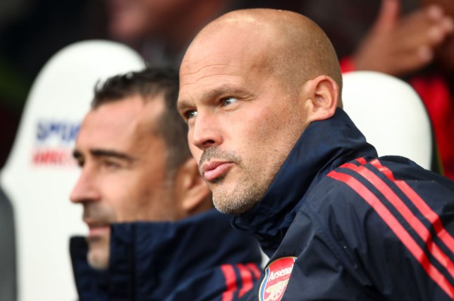 Freddie Ljungberg was promoted to Arsenal's senior coaching staff in the summer