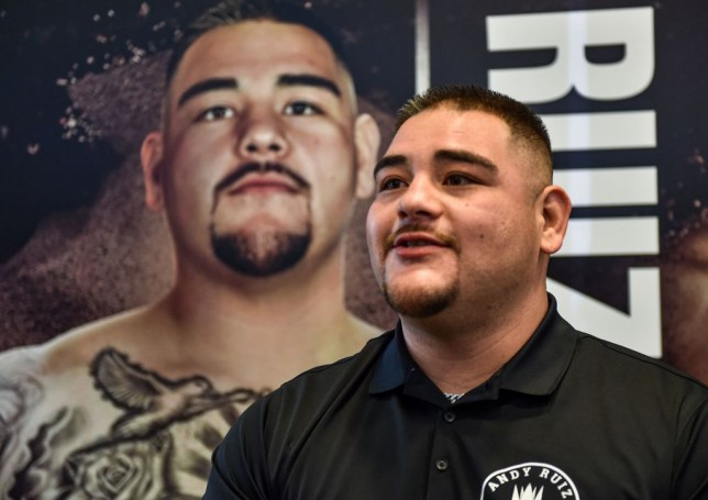Andy Ruiz Jr targets 10lbs weight loss to improve hand speed for Anthony Joshua rematch