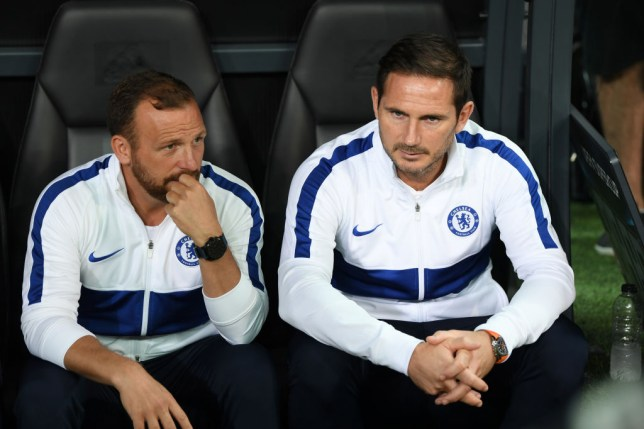 Frank Lampard and Chelsea assistant Jody Morris