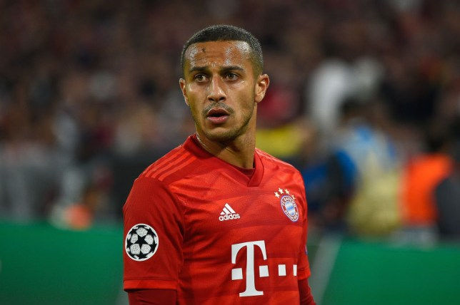 Thiago Alcantara was a target for Manchester United in 2013