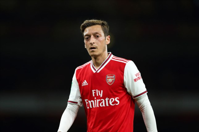 Mesut Ozil was left out of Arsenal's match day squad for the matches against Man Utd and Eintracht Frankfurt