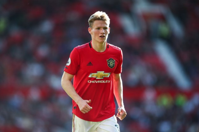Scott McTominay could be out for up to four weeks