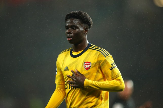 Bukayo Saka impressed against Manchester United (Picture: Getty)
