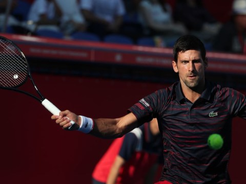 Novak Djokovic makes winning return from injury in Tokyo debut