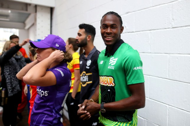 England hero Jofra Archer keen to play with Chris Gayle and AB de Villiers in the Hundred