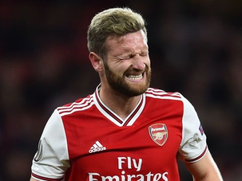 Shkodran Mustafi reacts to being voted world's second worst defender behind Phil Jones