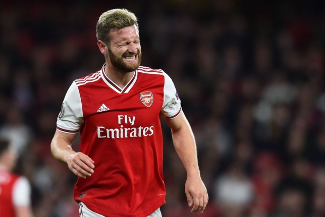 Arsenal centre-back Shkodran Mustafi was voted the second worst defender in the world behind Manchester United's Phil Jones