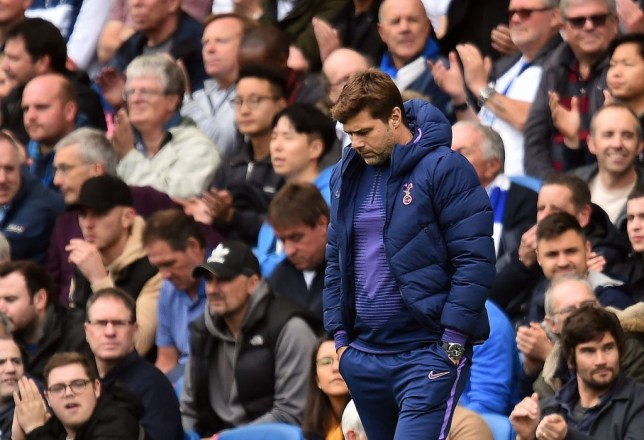 Mauricio Pochettino cut a forlorn figure on the touchline, watching his side lose for the second time this week
