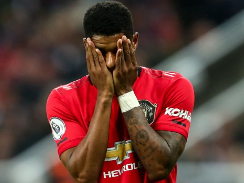 Manchester United boss Ole Gunnar Solskjaer defends Marcus Rashford following loss at Newcastle