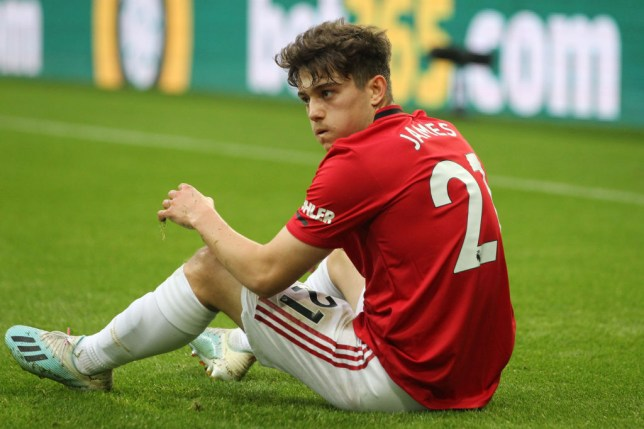 Daniel James was one of three summer arrivals at Manchester United