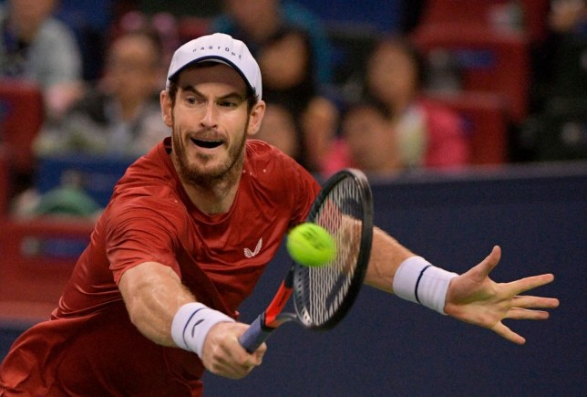 Andy Murray ends Chinese swing with fiery defeat to Fabio Fognini in Shanghai as Dan Evans becomes British No. 1
