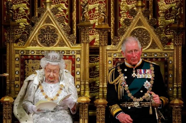 The Queen making the Queen's Speech 2019