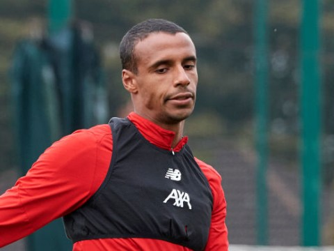 Joel Matip declares himself available for Liverpool's clash with Manchester United after injury lay-off