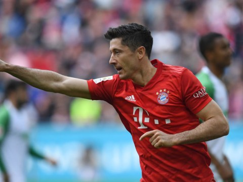 Bayern Munich striker Robert Lewandowski equals Pierre-Emerick Aubameyang record