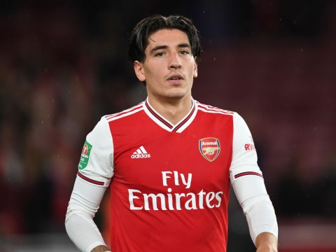 Unai Emery provides Hector Bellerin injury update ahead of Arsenal's clash with Standard Liege