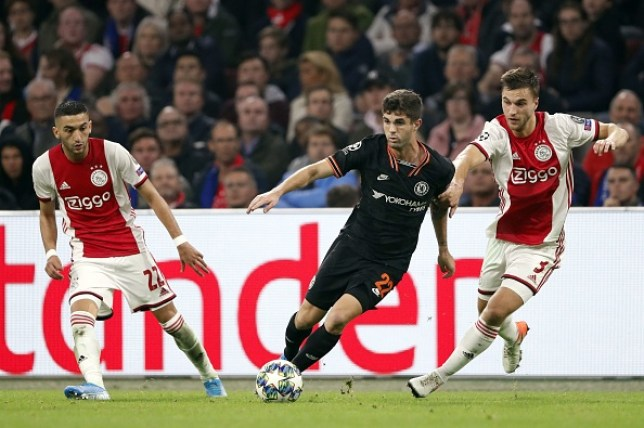 Christian Pulisic impressed against Ajax