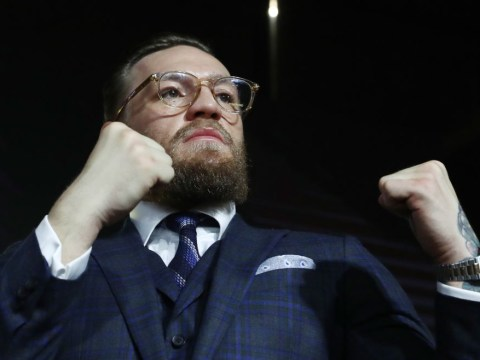 Conor McGregor attacked at press conference as man throws bottle at former UFC champion