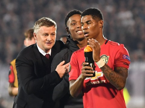 Ole Gunnar Solskjaer unhappy with Anthony Martial and Marcus Rashford after Partizan Belgrade win