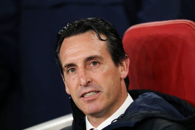 Unai Emery left Mesut Ozil out of his squad for the fifth game in succession