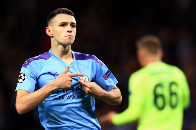Image result for Phil Foden (Manchester City)