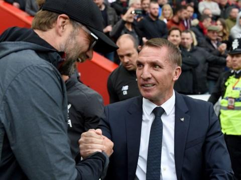 Brendan Rodgers responds after Jurgen Klopp slams Leicester star over Mohamed Salah tackle