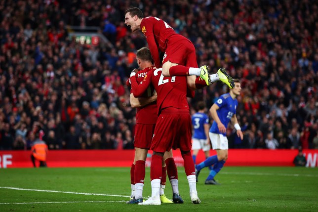 Liverpool edged past Leicester to maintain their 100 per cent Premier League record