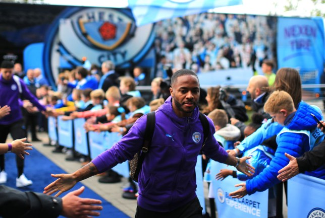 Manchester City planning contract talks with Raheem Sterling less than 12 months after last extension