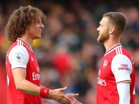 Calum Chambers hails David Luiz's influence after winning goal for Arsenal against Bournemouth