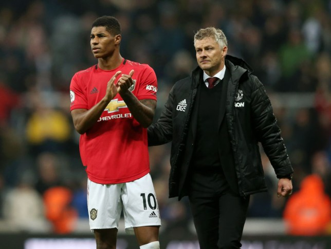 Marcus Rashford has scored just once from open play for Manchester United this season