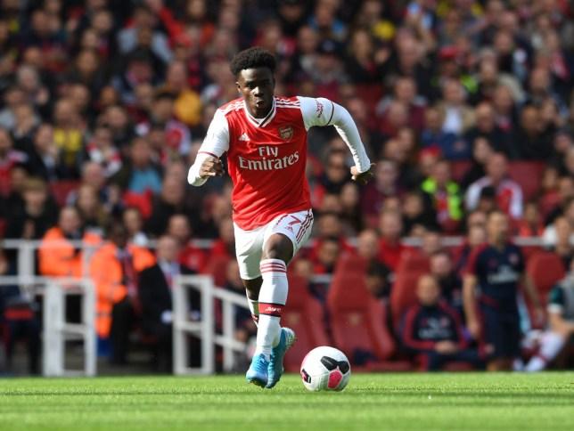 Arsenal star Bukayo Saka feels he's earned trust of Unai Emery in Alexandre Lacazette's absence