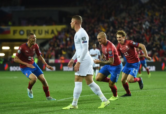 England lose first tournament qualifier in 10 years as Czech Republic stun Three Lions