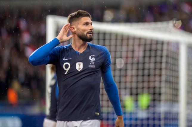 Olivier Giroud is considering his Chelsea future