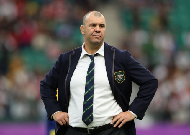 Michael Cheika was left distraught by Australia's defeat to England