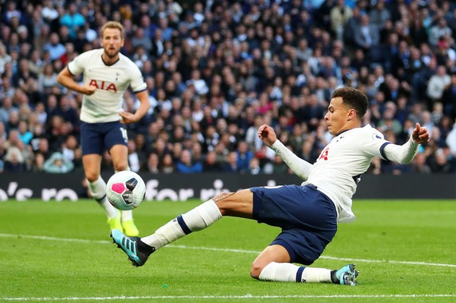 Dele Alli scored Tottenham's equaliser in their 1-1 draw with Watford