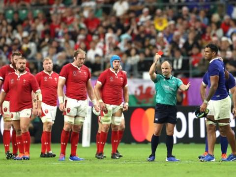 Sebastien Vahaamahina red card gives Wales dramatic win over France