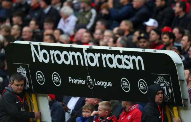 The Premier League launched their 'No Room for Racism' campaign this weekend