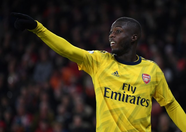 Nicolas Pepe missed a sitter in Arsenal's defeat at Sheffield United
