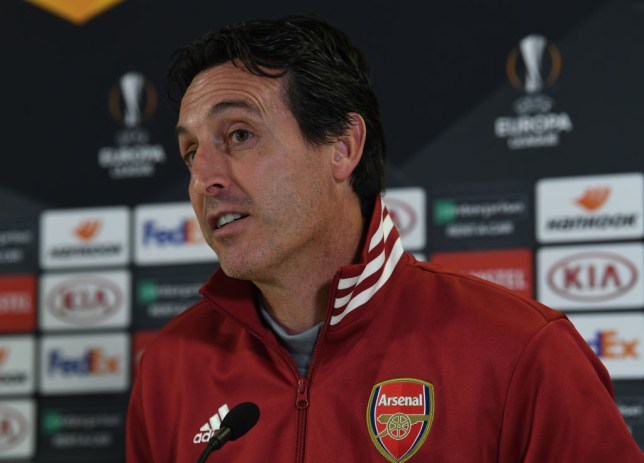 Unai Emery insists he has made Arsenal a more competitive team than they were under Arsene Wenger