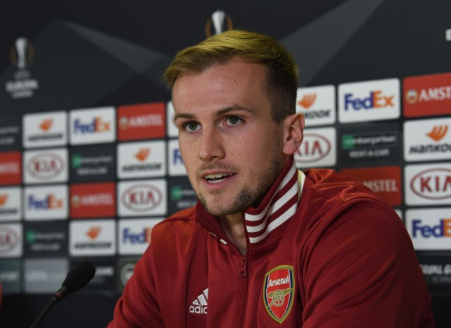 Rob Holding confident over Arsenal's top-four chances – but admits he'd prefer to win Europa League