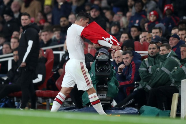 Gary Neville and Jamie Carragher have reacted to Granit Xhaka's meltdown