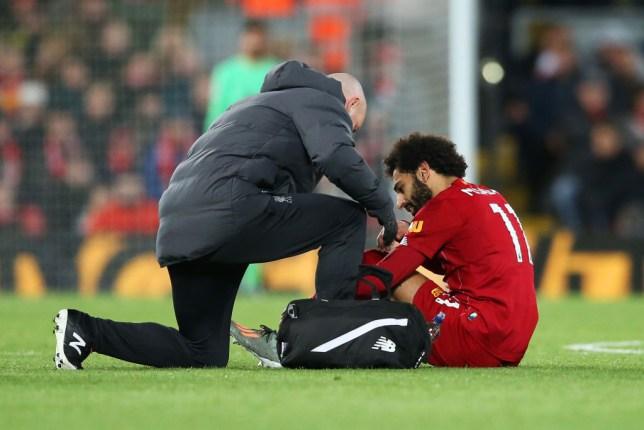 Liverpool fans were concerned over the fitness of Mohamed Salah